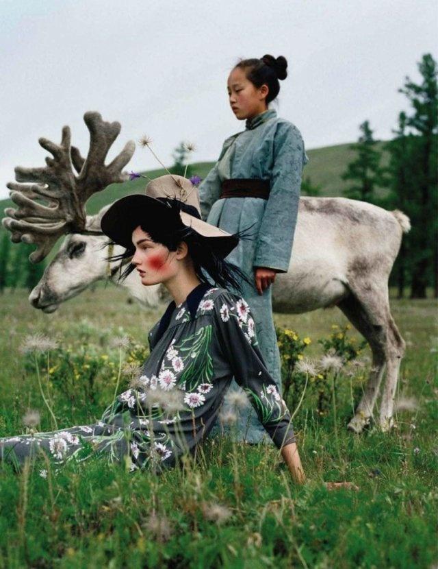 Mongolia by Tim Walker