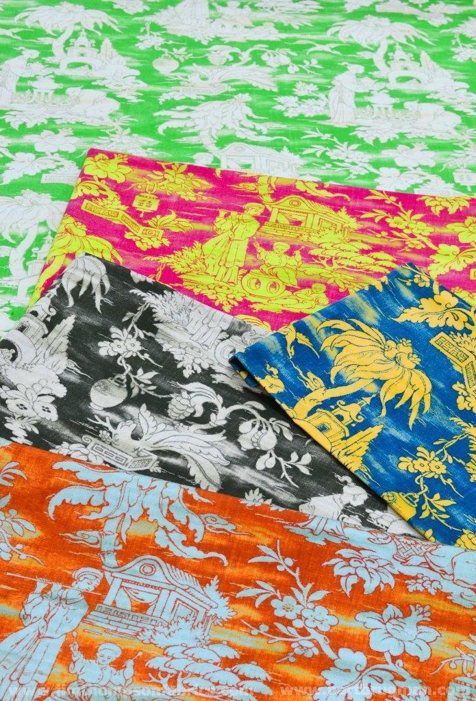 JIM THOMPSON's fabrics collection 'Forbidden colours' (january 2015) - www.jimthompsonfabrics.com - www.bartbrugman.com