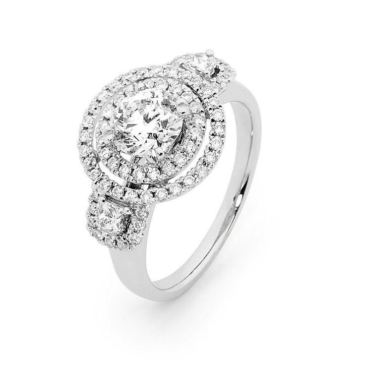 A beautiful round diamond from Matthew Ely. We are in love.
