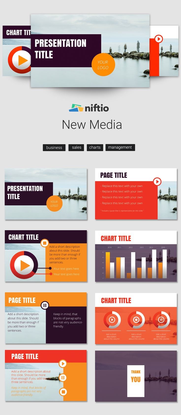 New PowerPoint Alternative - Presentation Templates by Niftio - Presentation software