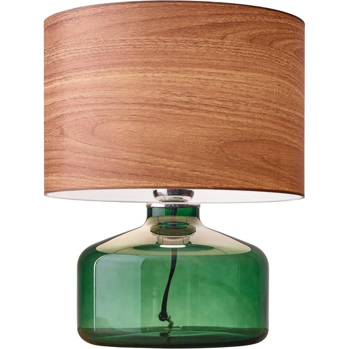 "AM+ Studio Jade 14.5"" H Table Lamp with Drum Shade 