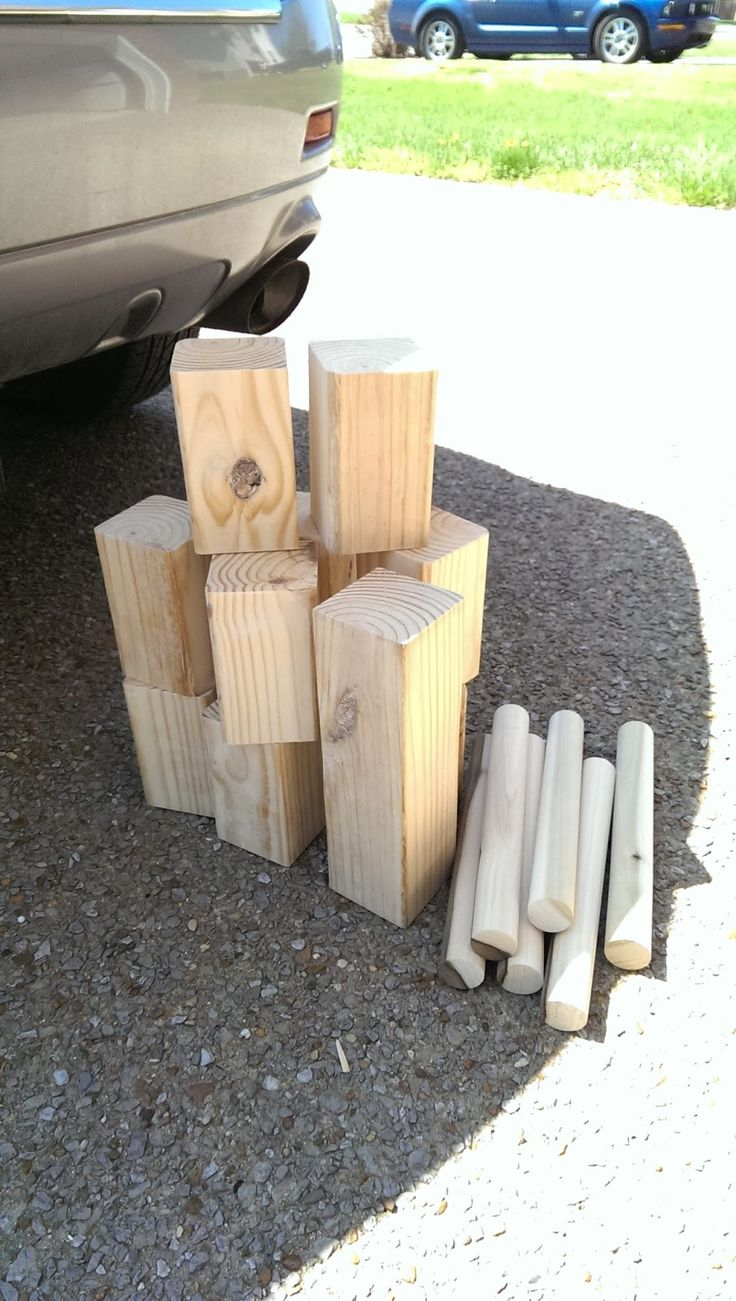 My Old Kentucky House: A Story of Three Kubb Sets