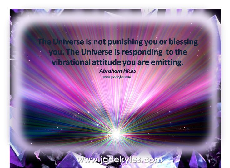 The Universe...  *´¨)            .•´¸.•*´¨) ¸.•*¨) Blessings                            (¸.•´ (¸.•` ¤ Jade xxx