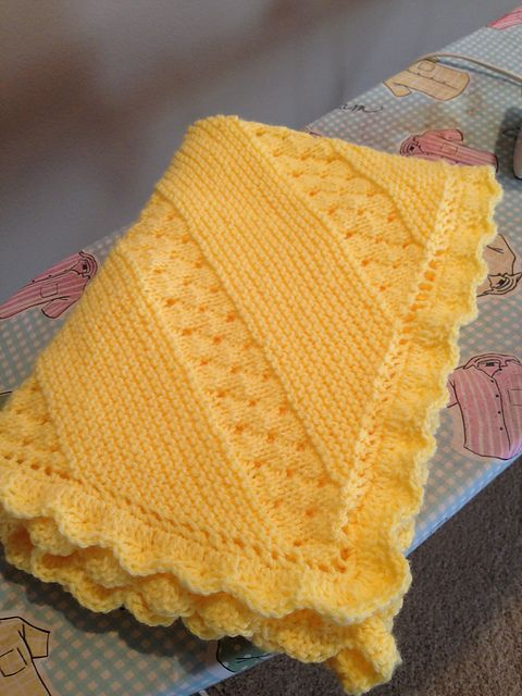 Ravelry: Project Gallery for Treasured Heirloom Baby Blanket pattern by Lion Brand Yarn