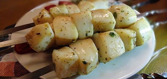 Филе кальмара на гриле (Squid Fillets on the Grill)