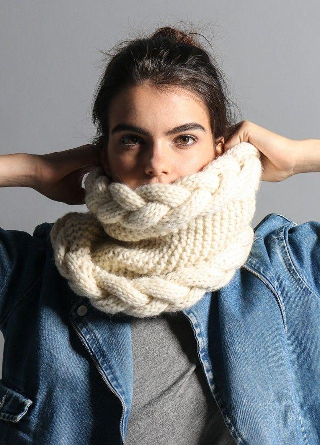 Hanki Snood Stricken Tricot Tricot Et Crochet Und Echarpe