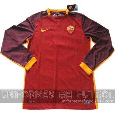 Venta de Jersey local para uniforme del ML AS Roma 2015-16