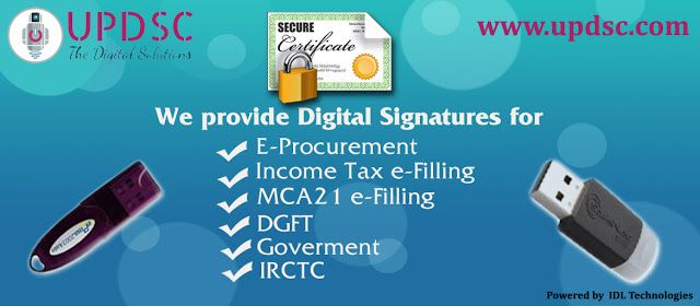 Digital Signature For E-Tendering (Best Services Provider)