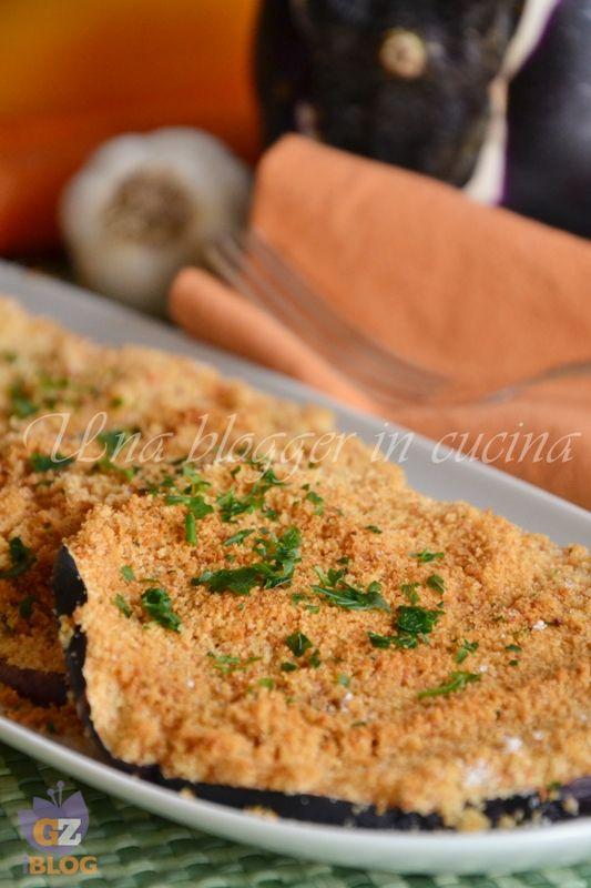 melanzane impanate al forno