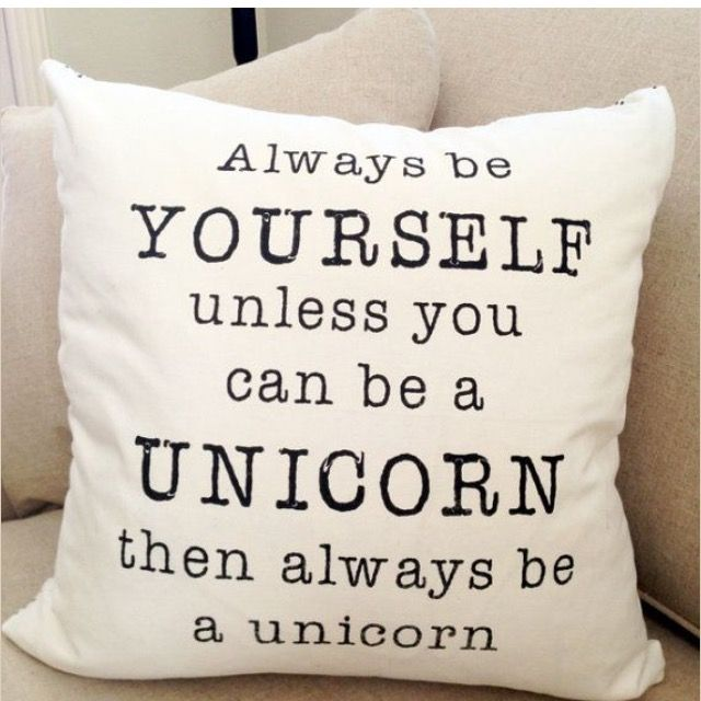Yes i want to be a unicorn