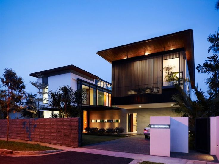 Park + Associates have designed the Berrima #House for a family in Singapore.