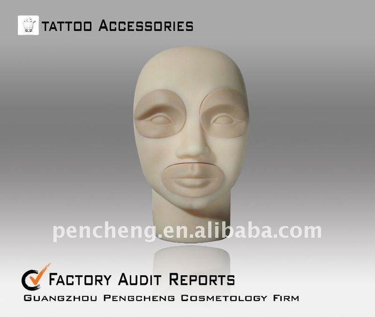 > Tattoo Practice skin > 3D-Stereo tattoo practice head-lips ...
