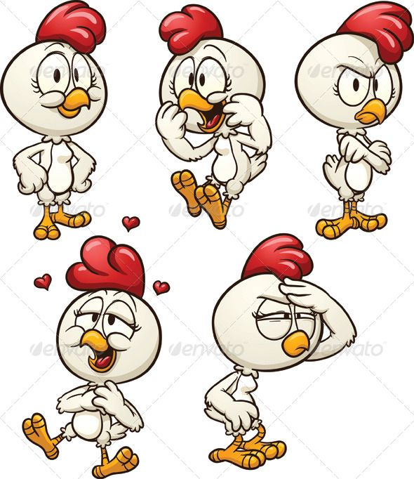 Cartoon Hen  #GraphicRiver         Cute cartoon hen. Vector clip art illustration with simple gradients. All in a single layer. EPS 8 file included.     Created: 19October13 GraphicsFilesIncluded: VectorEPS Layered: Yes MinimumAdobeCSVersion: CS Tags: angry #cartoon #character #chicken #cute #enamoured #excited #expressive #female #gradient #happy #hen #illustration #isolated #love #seeking #smiling #squinting #standing #vector #white