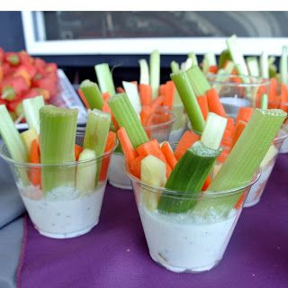 Casual Catering ideas for a party or wedding.