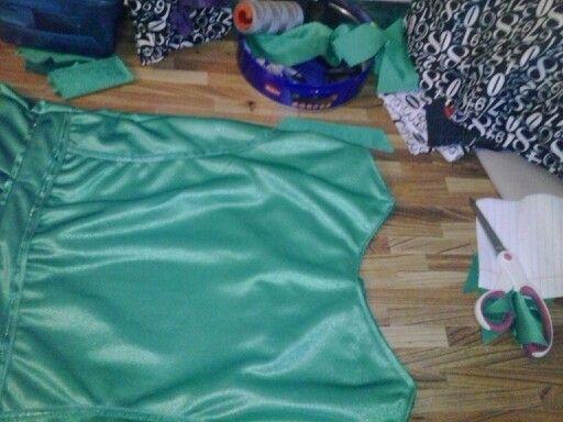 Suite robe de fée clochette modifié