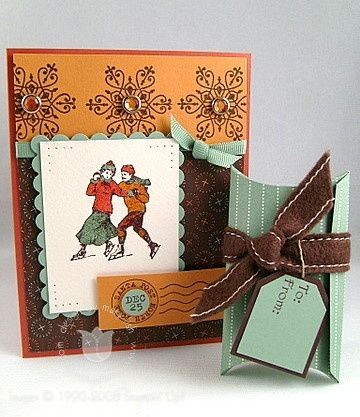 Winter Post: Christmas Cards Crafts, Stampin Up Winter Post, Stamp Sets, Paper Craft, Cards Christmas, Craft That Cards, Xmas Cards, Cards 124