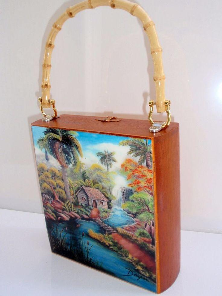Cigar Box Purse Special Price reduce 10%. Cigar Box handbag. Limited Edition #Fashion