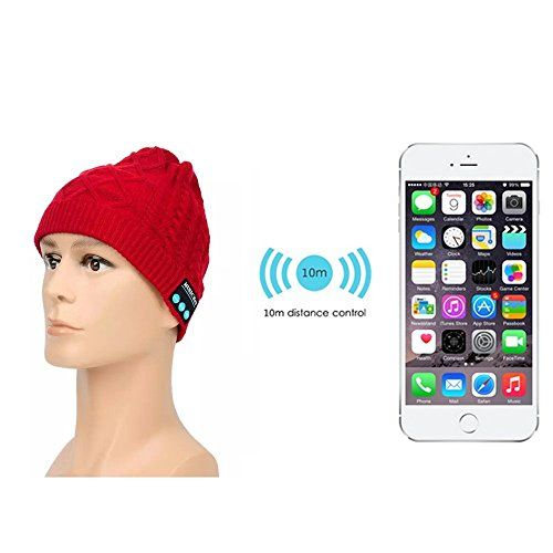 Gorro de música Bluetooth Lavable, Koiiko® manos libres Altavoces estéreo - https://complementoideal.com/producto/tienda-socios/lavable-de-msica-bluetooth-sombrero-koiiko-manos-libres-altavoces-estreo-integrados-auriculares-para-iphone-6s-plus-6-5-ipad-air-2-mini-pro-samsung-galaxy-s6-edge-plus-htc-one-sony-xperia-google-nex-3/