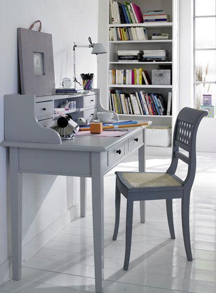 desk hutch, paint inside a different colour