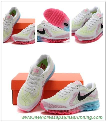 Womens Nike Air Max 2014 Pure Platinum Black Vivid Pink Violet For Sale  Cheap