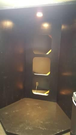 spray tan booth, For sale $250 craigslist for sale Spray tan booth with an overhead light and 3 cutouts for extraction fans...., spray tan booth