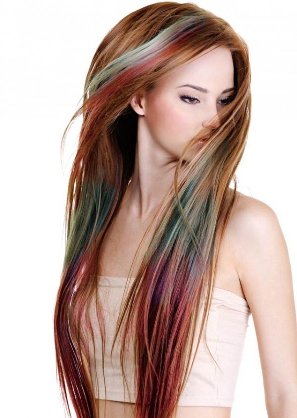 color hair with chalk
