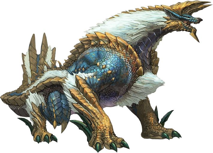 Zinogre concept from Monster Hunter. Very unique design with a sense of strength.