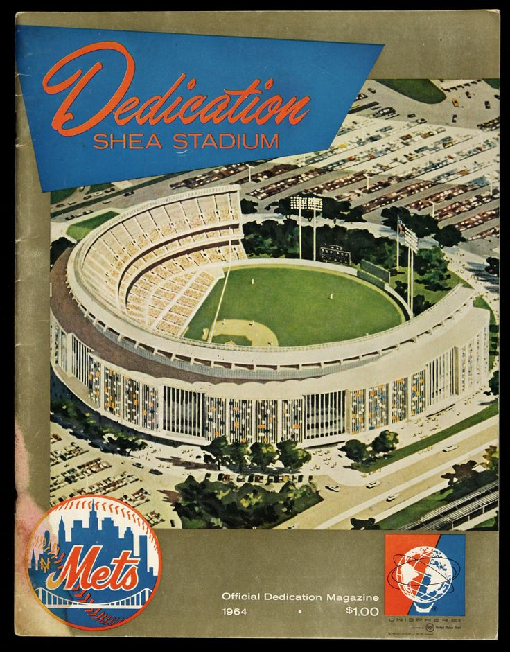 1964 NY Mets • Shea Stadium Dedication