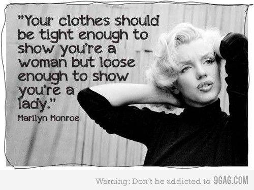 Wise words.    Wijze woorden van Marilyn Monroe - Vrouwen.nl