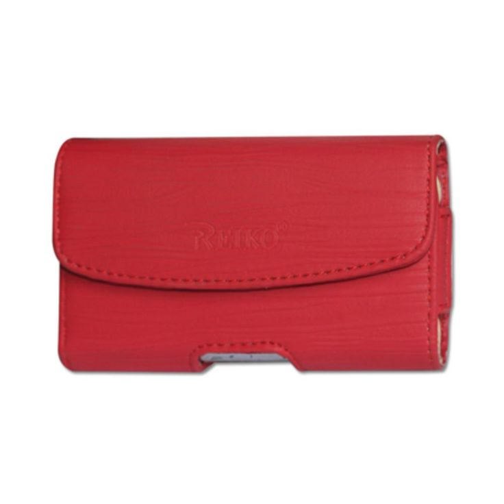 Reiko HORIZONTAL POUCH HP1025A BLACKBERRY 8830 RED 4.30 X 2.40 X 0.60 INCHES