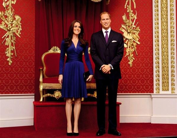 Patung Lilin Keluarga Kerajaan Inggris