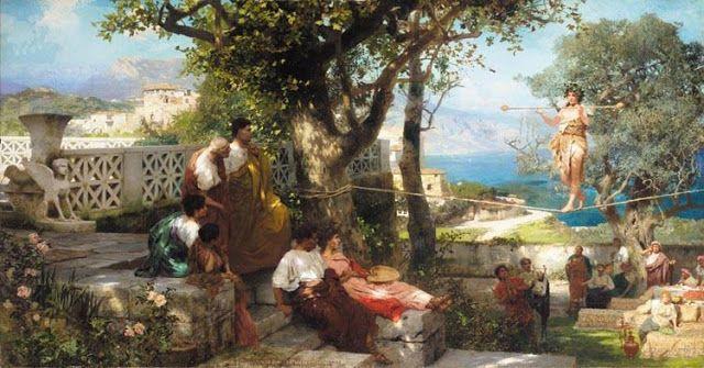Σχοινοβάτης στο Κάπρι (1898)