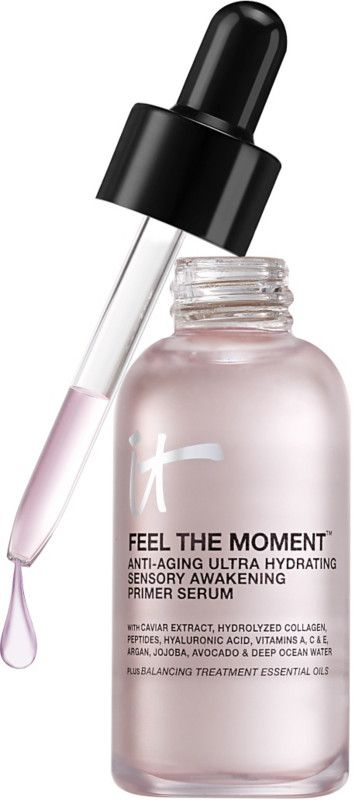 It Cosmetics Feel The Moment Anti-Aging Ultra Hydrating Sensory Awakening Primer Serum Ulta.com - Cosmetics, Fragrance, Salon and Beauty Gifts