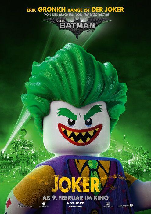 Lego Batman Movie, The (2017) Deutscher Titel: Lego Batman Movie, The Originaltitel: Lego Batman Movie, The Produktion: USA, Dänemark (2017) Deutschlandstart: 09. Februar 2017