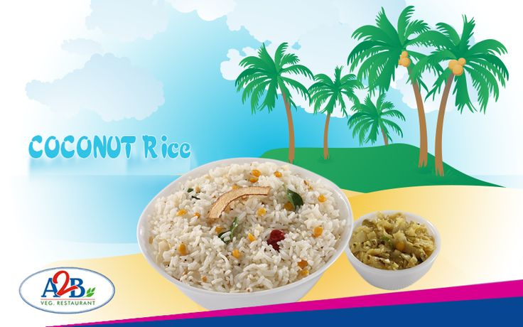 Bored of the usual menu. Coconut Rice with high health benefits, enjoy the deliciousness at Adyar Ananda Bhavan  www.aabsweets.in | admin@aabsweets.com +91- 44 - 23453050, 24469977, 24462324  #AdyarAnandaBhavan #Food #Foodie #Restaurant #CoconutRice #A2B
