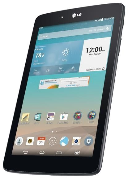 AT&T's $150 on-contract price for the 7-inch LG G Pad LTE tablet isn't bad any way you look at it. But if you're planning to buy an LG phone at the same time, it's even better -- just $1 starting August 8, when you pick up the LG G3, LG G2, or LG G Flex.