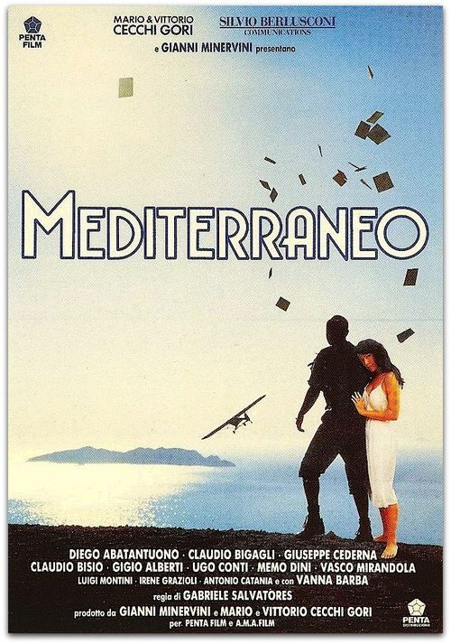 Everscreen:  Mediterraneo by Gabriele Salvatores is an Italian film that won the Academy Award for Best Foreign Language Film in 1991. The film is set during World War II, and regards a group of Italian soldiers who become stranded on a Greek island and are left behind by the war. The filming took place on the island of Kastellórizo.