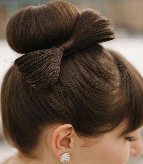Bow Hairstyle 16 Best Beauté Images On Pinterest  Gorgeous Hairstyles Hair Dos