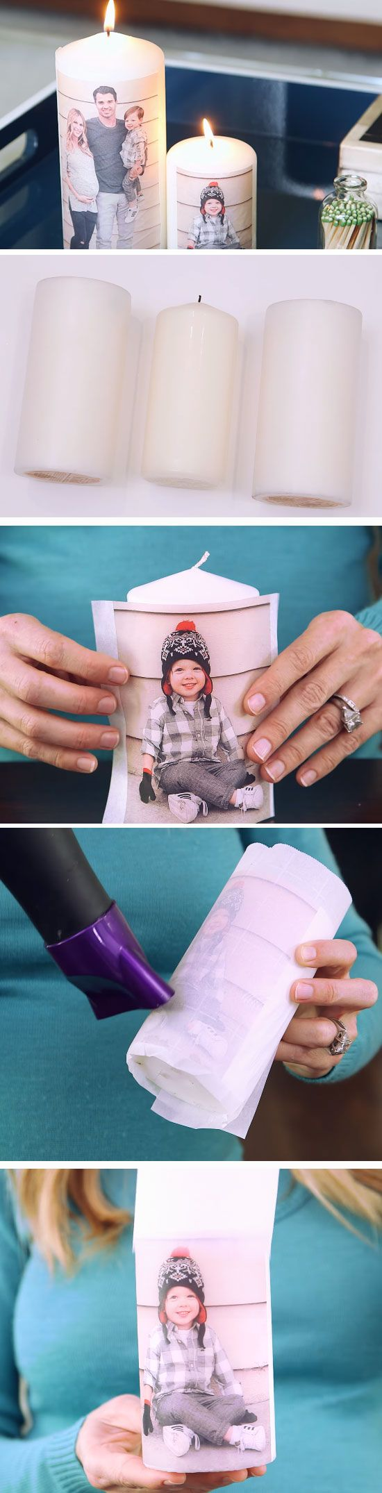 Personalized Candles | Creative DIY Christmas Gifts for Dad