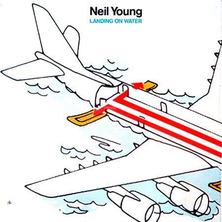 Neil Young - Landing On Water (Vinyl, LP, Album) at Discogs  1986