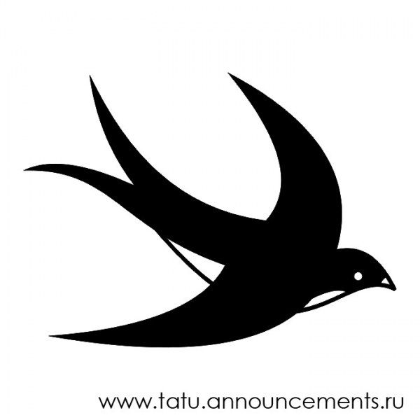 martlet+bird | ... птицы. Qualitative black and white sketch, the image of bird