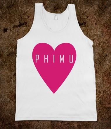 Phi Mu Frat Tanks - Phi Mu Heart. Phi Mu Sorority Shirts. CLICK HERE to purchase :)