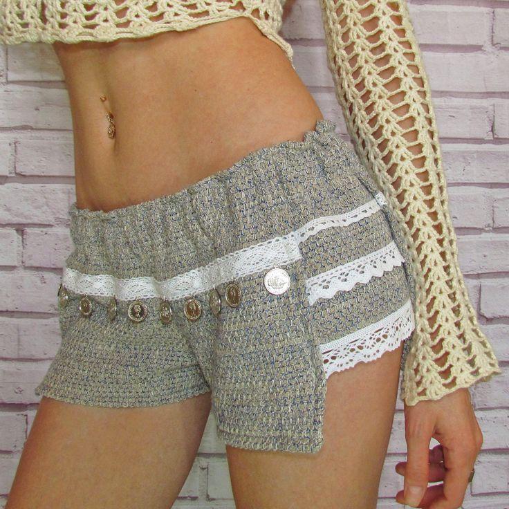 IN STOCK US$69 Women's boho shorts|Women's short shorts|Women's lace shorts|Bohemian shorts|Beach shorts|Summer shorts|Sexy shorts|Women's hot pants