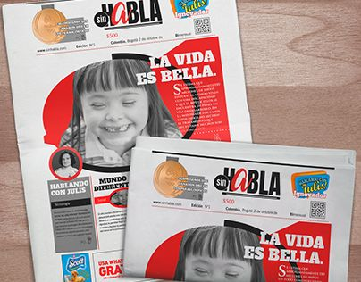 "Check out new work on my @Behance portfolio: ""sinHABLA Diseño editorial, diseño Web."" http://be.net/gallery/59196359/sinHABLA-Diseno-editorial-diseno-Web"