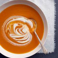 Butternut Squash and Carrot Soup Recipe