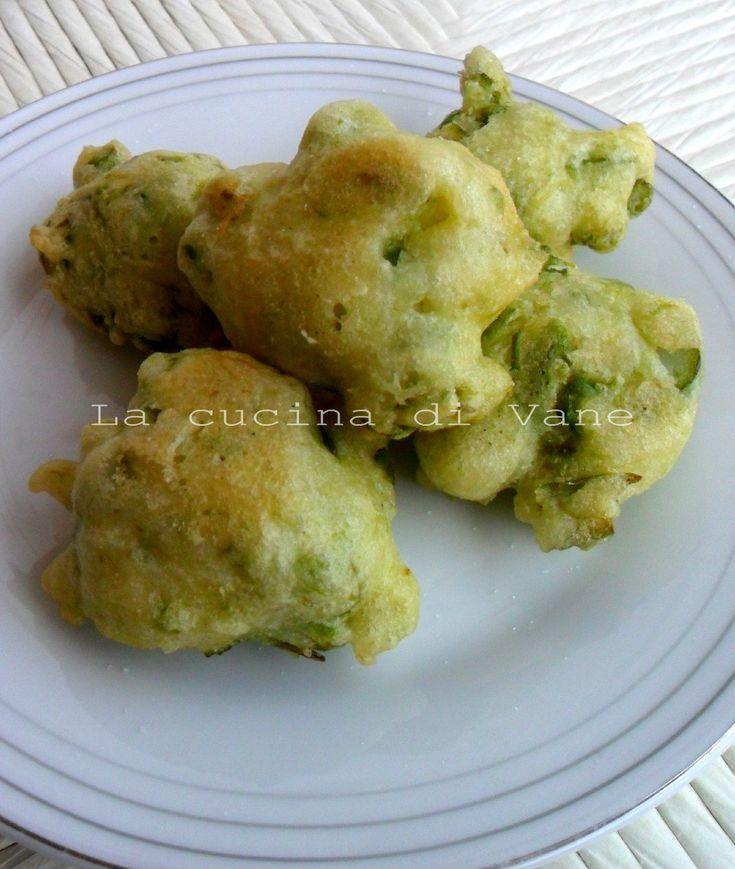 frittelle di asparagi e ricotta