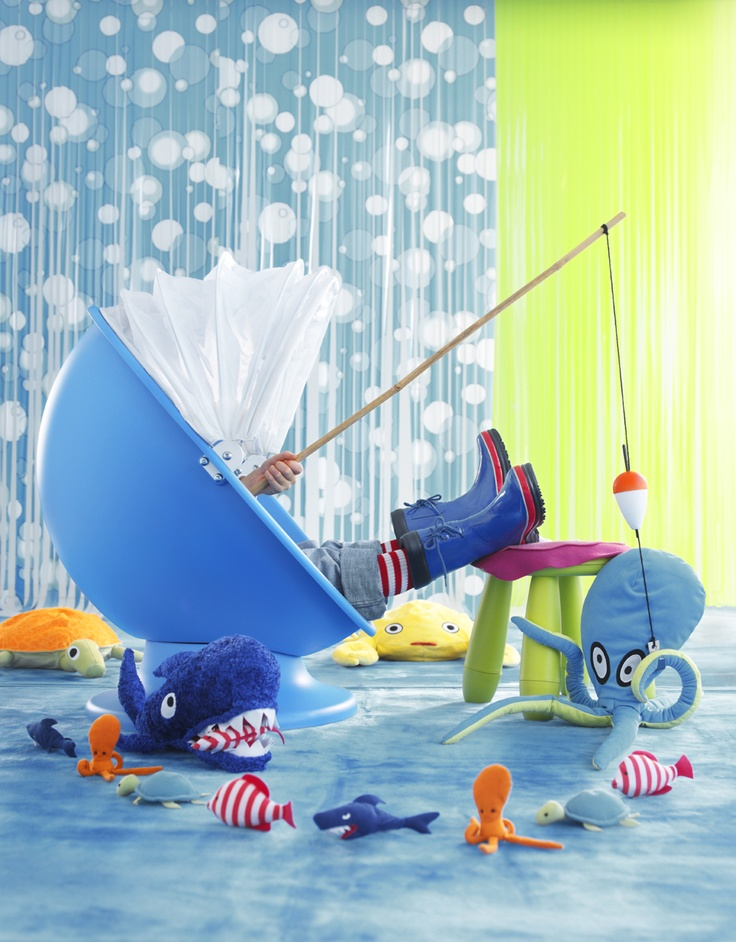 IKEA Österreich, Inspiration, Kinder, Kids, Drehsessel IKEA/PS LÖMSK, Hocker MAMMUT