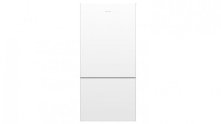 Fisher & Paykel 519L Pocket Handle Bottom Mount Fridge - White - Fridges - Appliances - Kitchen Appliances | Harvey Norman Australia