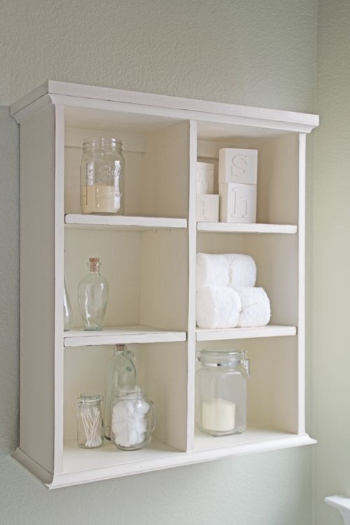 Best White Bathroom Shelves Ideas On Pinterest Small