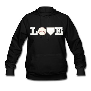 Love Baseball Hoodie - create yours with heat transfer materials and a heat press.